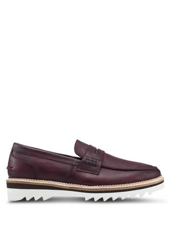 Carlton London brown Slide On Loafers 8BD89SH2A3EDE4GS_1