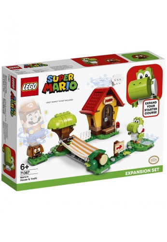 LEGO multi LEGO Super Mario 71367 Mario's House & Yoshi Expansion Set (205 Pieces) DD954TH7B343EAGS_1