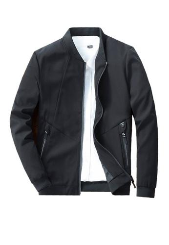 Twenty Eight Shoes black VANSA  Simple Casual Coat VCM-C619 23D42AA92D0E01GS_1