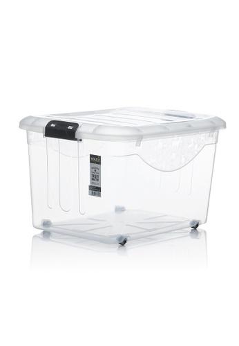 HOUZE HOUZE - 60L Motif Storage Box with Wheels A89D0HL0368FE0GS_1
