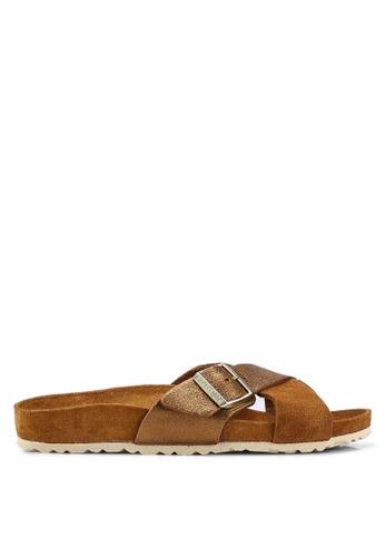 2e430c6e7bdfb Shop Birkenstock Siena Exquisite Suede Leather Sandals Online on ZALORA  Philippines
