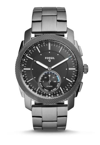 Fossil grey Fossil Q Machine Hybrid Smartwatch FTW1166 88B92AC1B99E30GS_1