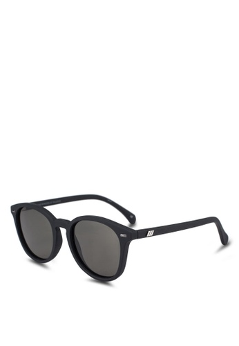 Le Specs black Bandwagon Sunglasses 61A53GL644C083GS_1