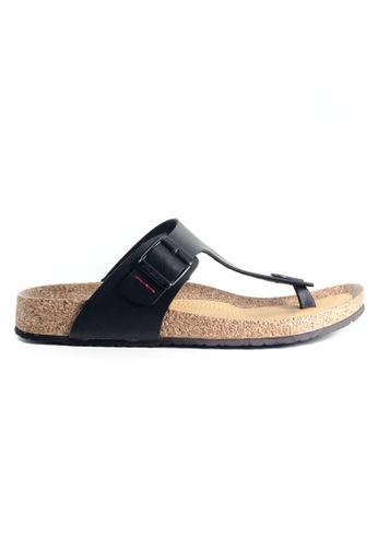 G-wingx black G-Wingx Men Sandal E31B0SH9CB9ACDGS_1