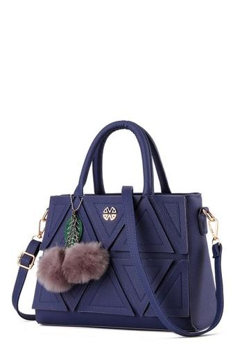 TCWK blue TCWK Korea Style Blue Ladies Handbag TC258AC0RQIPMY_1