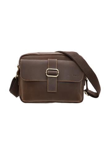 Jack Studio Jack Studio Genuine Leather Sling Bag AD972ACB28BD28GS_1