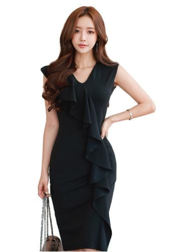 Sunnydaysweety black Summer New Elegant Dress A070508-0 DC67DAAFF10E09GS_1