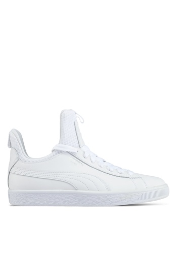 Puma white Basket Fierce Ep Shoes PU549SH0SWF3MY_1