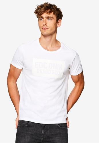 ESPRIT 白色 短袖T恤 1F2C7AAB7D8EA8GS_1