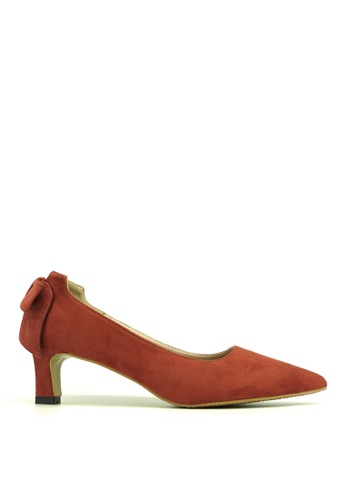"Carlo Rino red Carlo Rino 33310-A023-14 2""Pointed Toe Pumps (Red) 5A3D5SH59F5999GS_1"
