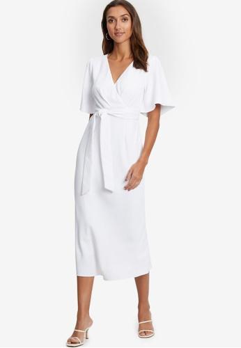Tussah white Carin Dress F4053AA1FD86D3GS_1