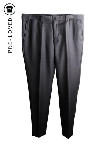 Emporio Armani grey Pre-Loved emporio armani Grey Long Pants 646B5AA521A755GS_1