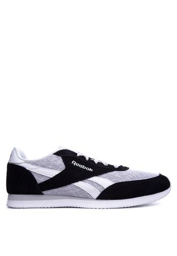 Reebok black and grey Reebok Royal CL Jog 2TM RE600SH72SRZPH_1