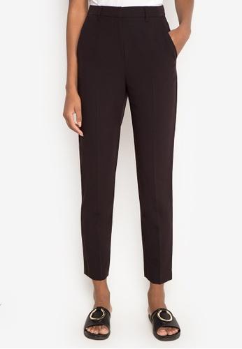 c493fafa21d369 Shop TOPSHOP High Waisted Cigarette Trousers Pants Online on ZALORA  Philippines