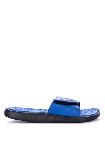 PEAK blue Ace Sports Slides Sandals 99BE4SH8546912GS_1