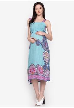 7ef35053805 BUNTIS multi Ellice Maternity Maxi Dress E6ED1AA6437115GS_1