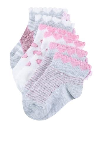 LC Waikiki multi 3-Pack Baby Girl Bow Socks 7B0D6KAEDD9695GS_1