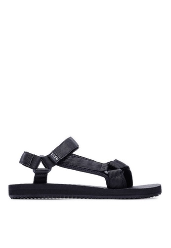 Life8 black Men and Women Breathable Casual Sandals -09695-Black LI286SH0RW86MY_1