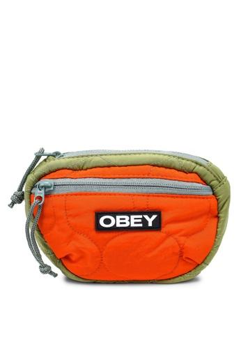 OBEY green Juniper Waistpack AF622AC7246D65GS_1