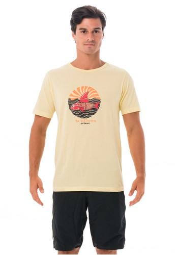 69 SLAM yellow MEN SHARK CRUISE BE DIFFERENT S/ST-SHIRT LEMON A2FF7AA9055437GS_1