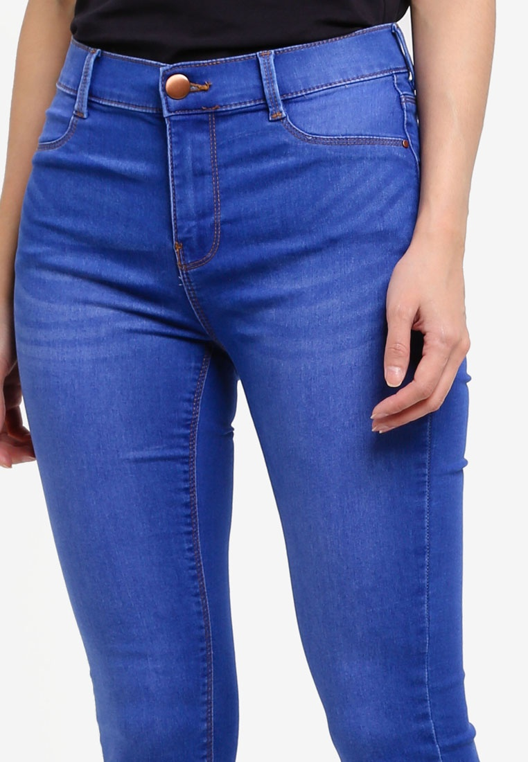 Jeans Blue Bright Dorothy Perkins 'Frankie' Blue Petite gxFvWPqEX