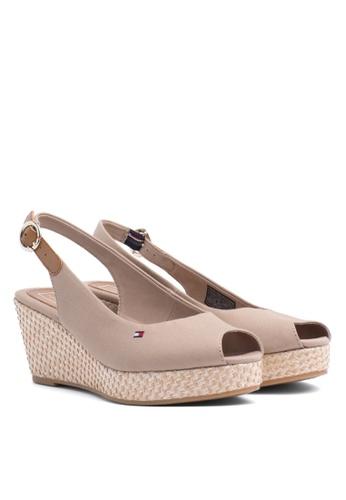 3dae5c19c Shop Tommy Hilfiger Iconic Elba Basic Wedge Sandals Online on ZALORA  Philippines