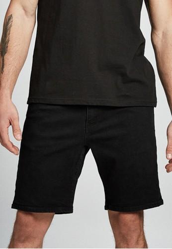 Cotton on black Straight Short 90D3DAAC89E2D0GS_1
