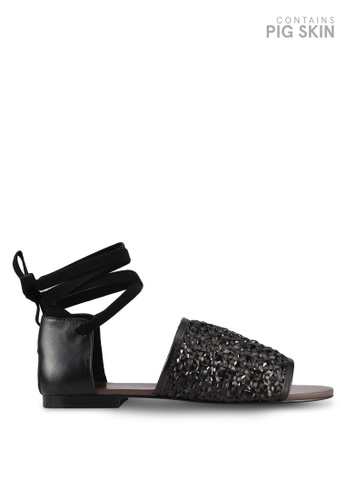 E8 by Miista black Talia Sandals E8283SH0STISMY_1
