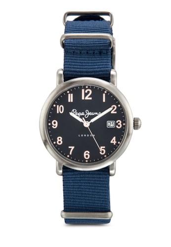 R2351105510 Carrie 數字顯示布esprit台灣outlet料女錶, 錶類, 飾品配件