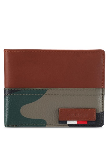 Tommy Hilfiger multi BRANDED LEATHER MINI CC WALLET TO729AC0H7C7SG_1
