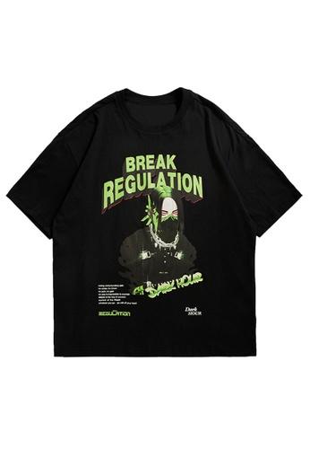 Twenty Eight Shoes Trend Printed Short T-shirt 5286S21 71C44AAAF06514GS_1