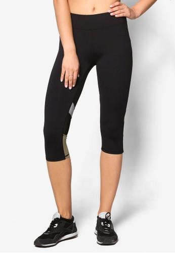 撞色拼接七分緊身運動褲、 服飾、 運動CottonOnBody撞色拼接七分緊身運動褲最新折價