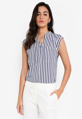 ZALORA BASICS multi Double Pocket Top 3E9F3AA1A19523GS_1