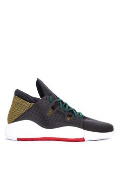 hot sale online bf7ba 9a852 adidas black adidas pro vision 0B914SHEF1D102GS 1