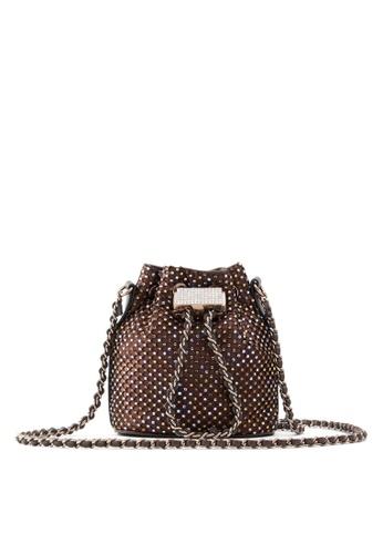 ALDO brown Sologna Bucket Bag 2E771AC6D6B8F1GS_1