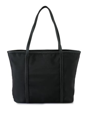 NUVEAU black Oxford Nylon Tote Bag 938E9AC4BA701FGS_1