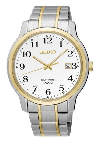 Seiko multi Seiko Gold and Silver Stainless Steel Watch 57BE9AC0AF5E21GS_1
