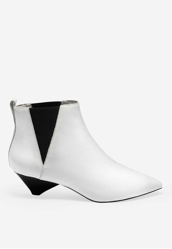 ASH white Cosmos - White Ankle Boots 2EB18SH066CED3GS_1