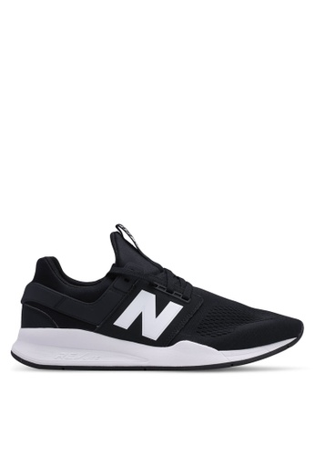 New Balance black 247 Lifestyle Classic Shoes 62A01SHB8A5BF8GS_1