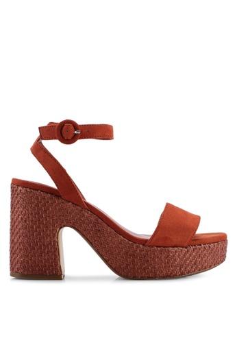 c8ce537d202 Buy Mango Platform Ankle-Cuff Heels