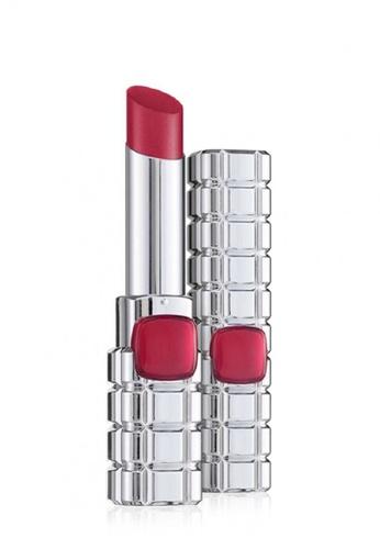 L'Oréal Paris red L'Oreal Paris Color Riche Shine Lip Stick 920 Groovy Magenta AC598BE67462B4GS_1