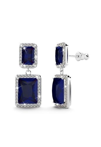 Annie Bloom ANNIE BLOOM Leticia Bloom Earrings in Sapphire F3100AC0DE8F58GS_1