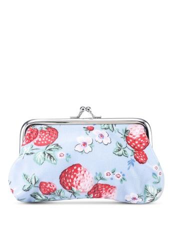 Cath Kidston blue Mini Wild Strawberries Clasp Purse CDA98AC4A042A5GS_1