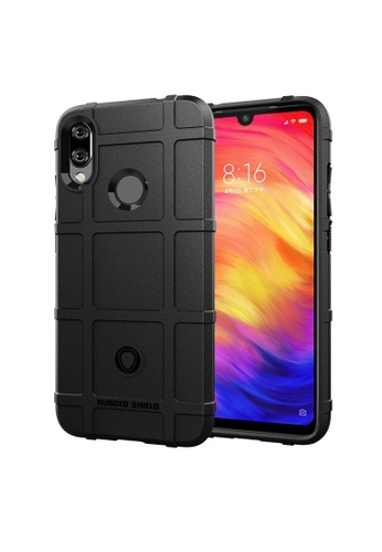 MobileHub black Xiaomi Redmi Note 7 Rugged Shield Case 9F038AC33C5785GS_1