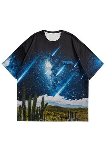 Twenty Eight Shoes Trend Printed Short T-shirt 5242S21 46F4CAAA32EFACGS_1