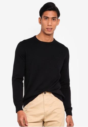 ESPRIT 黑色 針織衫 24476AA04BF8C2GS_1