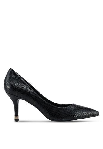 Miss KG black Black Mid Heel Court Shoes E8762SH139D381GS_1