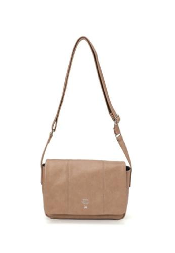 Anello beige anello Premium PU Sling Bag A4162AC3B12FBBGS_1