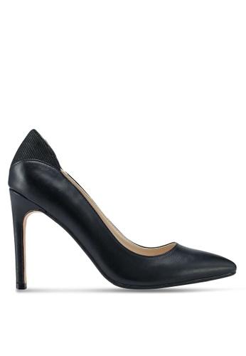ZALORA black Pump Heels With Back Detail E73F8SH4AB45FFGS_1