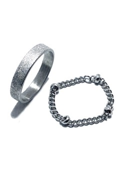 Stainless Steel Ring Duet